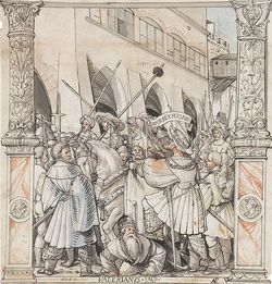 640px-The_Humiliation_of_Emperor_Valerian_by_Shapur,_King_of_Persia,_by_Hans_Holbein_the_Younger
