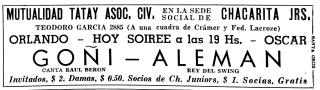 Goñi-Beron-Chacarita-Juniors-Mutualidad-Tatay-10-December-1944
