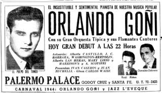 Goñi-debut-Palermo-16-February-1944