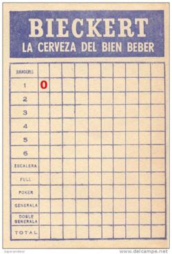 Generala-scorecard-w-zero